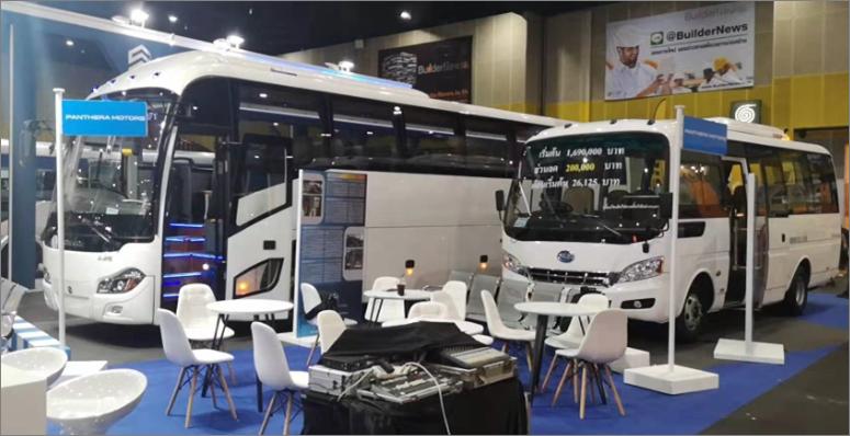 2019曼谷巴士&卡车展剪影